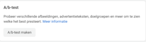 Foto of video advertenties; A/b-test in Facebook Ads