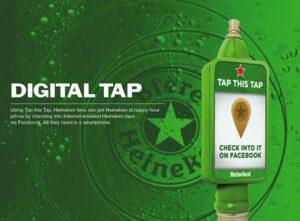 User Generated Content Heiniken Digital Tap